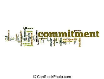 δέσμευση , λέξη , σύνεφο