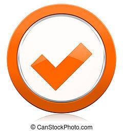 δέχομαι , πορτοκάλι , εικόνα , ελέγχω , σήμα