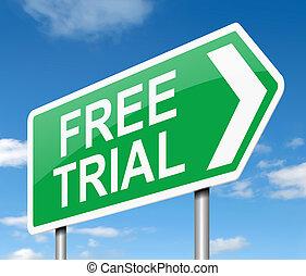 δίκη , concept., ελεύθερος