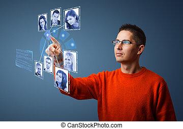 δίκτυο , κοινωνικός , γενική ιδέα