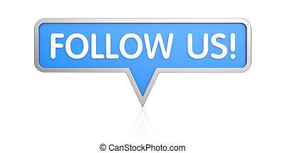 δίκτυο , κουμπί , - , εμάs , κοινωνικός , ακολουθώ , εικόνα