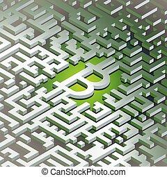 δίκτυο , τεχνολογία , εικόνα , λεφτά. , ψηφιακός , bitcoins, world., ακαταλαβίστικος , τριγύρω