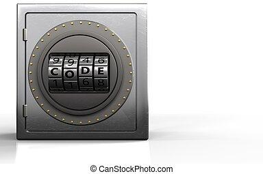 δίσκοs τηλεφώνου , κρυπτογράφημα , μέταλλο , ακίνδυνος , 3d