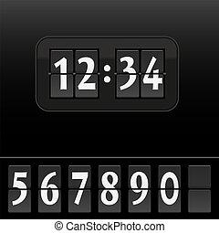 δίσκοs τηλεφώνου , ρολόι , μαύρο , ψηφιακός , ζεσεεδ