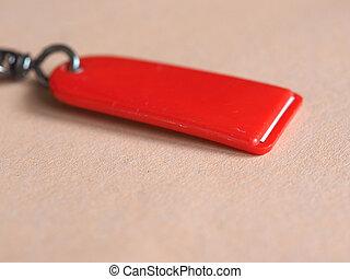 δακτυλίδι , εκλεκτικός , κόκκινο , κλειδί , εστία