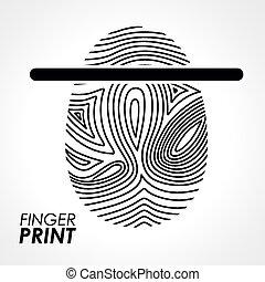 δακτυλικό αποτύπωμα , desi