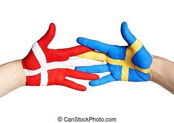 δανία , και , σουηδία