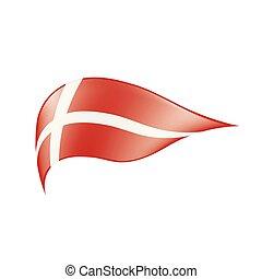 δανία , μικροβιοφορέας , σημαία , εικόνα