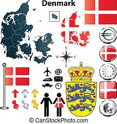 δανία , χάρτηs