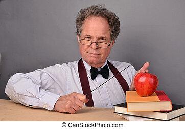δασκάλα , ώριμος