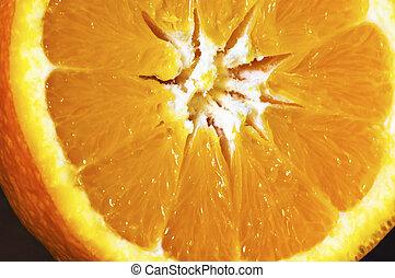 δείγμα , πορτοκάλι