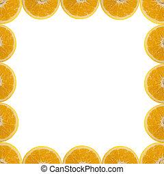 δείγμα , πορτοκάλι , κορνίζα
