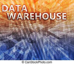 δεδομένα , αποθήκη , εικόνα