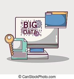δεδομένα , δίσκος , τεχνολογία , κέντρο , δίκτυο