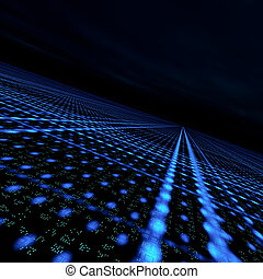 δεδομένα , θεμελιώδης μάζα δικτυωτό