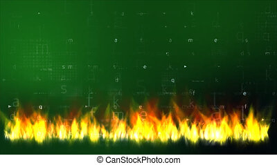 δεδομένα , μέσα , φωτιά