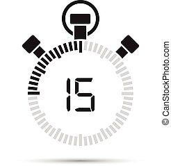 δεύτερος , 15 , μετρών την ώραν
