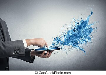 δημιουργικός , τεχνολογία