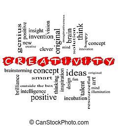 δημιουργικότητα , γενική ιδέα , λέξη , σύνεφο , γράφω βιαστικά