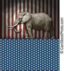 δημοκρατικός , ελέφαντας