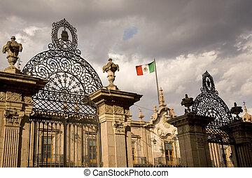 δημόσια διοίκηση ανάκτορο , μεξικό