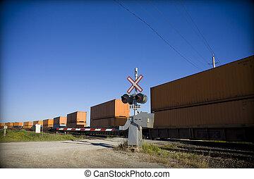 διάβαση , σιδηρόδρομος