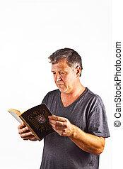 διάβασμα , άντραs , βιβλίο
