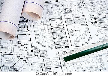 διάγραμμα , αρχιτέκτονας , ζωγραφική