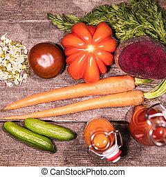 διάφορος , λαχανικά