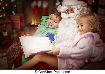 διαβάζω , ιστορία , claus , santa , μυστηριώδης
