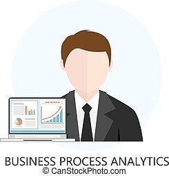 διαδικασία , analytics, διαμέρισμα , επιχείρηση , εικόνα