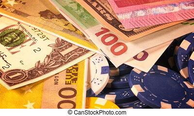 διακινδυνεύω απόκομμα , χρήματα
