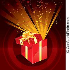 διακοπές χριστουγέννων απονέμω , κουτί , μαγεία