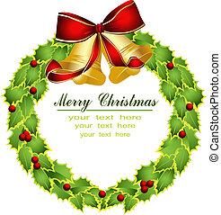 διακοπές χριστουγέννων γιρλάντα