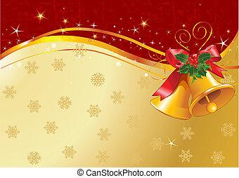 διακοπές χριστουγέννων κουδούνι , σχεδιάζω
