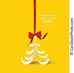 διακοπές χριστουγέννων μπάλα , και , αναπαριστώ αποτελώ το πλαίσιο , φωτογραφία , γκαλλερί τέχνης , επάνω , κίτρινο , wall., μικροβιοφορέας , eps10