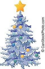 διακόσμησα , δέντρο , xριστούγεννα