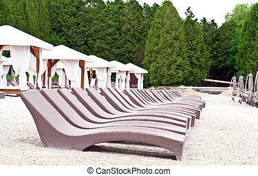 διακόσμηση έδρα , στην παραλία
