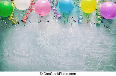 διακόσμηση , πάρτυ , γενέθλια
