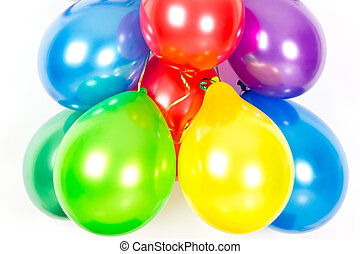 διακόσμηση , πάρτυ , balloons., γραφικός