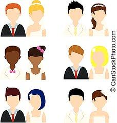 διαμέρισμα , γάμοs , άνθρωποι , απεικόνιση