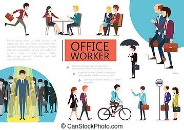 διαμέρισμα , δουλευτής , γραφείο , γραφικός , έκθεση