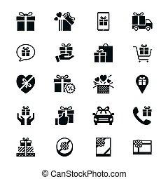 διαμέρισμα , δώρο , απεικόνιση