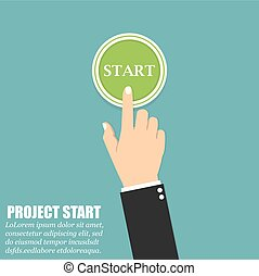 διαμέρισμα , κουμπί , χέρι , αρχή , αντίτυπο δίσκου , πράσινο , σχεδιάζω