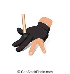 διαμέρισμα , μπιλιάρδο , γάντι , χέρι , νύξη , μικροβιοφορέας , βέργα