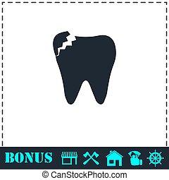 διαμέρισμα , οδοντιατρικός , πρόβλημα , εικόνα