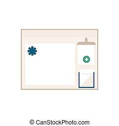 διαμέρισμα , πληροφορία , μικροβιοφορέας , πίνακας , απομονωμένος