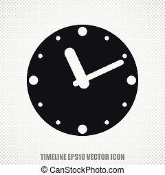 διαμέρισμα , ρολόι , μοντέρνος , μικροβιοφορέας , ώρα , icon., design.