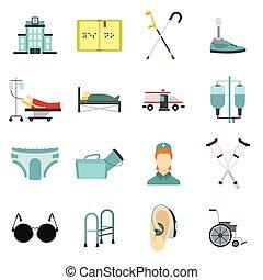 διαμέρισμα , ρυθμός , άνθρωποι , θέτω , απεικόνιση , ανάπηρος , προσοχή