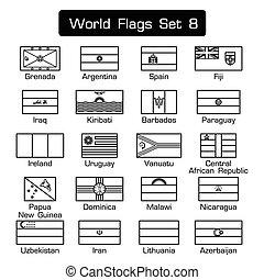 διαμέρισμα , ρυθμός , θέτω , περίγραμμα , κόσμοs , απλό , σχεδιάζω , 8 , σημαίες , ηλίθιος